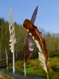Giant Sculpted Bird Feathers