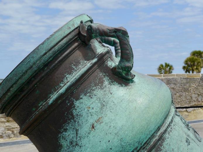 Spanish Bronze Cannon
